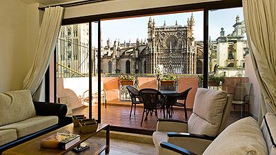 Alquiler de apartamentos tur sticos en sevilla catedral for Alquiler de casas en pilas sevilla