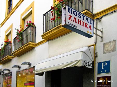 Hostal zahira hostal de 2 estrellas en el centro de sevilla for Alojamiento barato en sevilla centro
