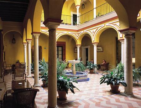 Hotel casa de la juderia 4 star hotel in seville for La mansion casa hotel apurimac