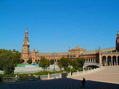 Plaza De España And Maria Luisa Park Sevilla - Seville
